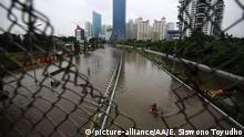 Indonesien: Starke Überschwemmungen in Jakarta