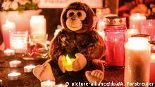 BdT Gedenkkerzen Nach dem Brand im Krefelder Zoo