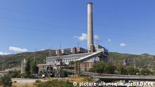 Kohlekraftwerk in Ören, Golf von Gökova, Provinz Mu?la, Ägäis, Türkei, Asien | Verwendung weltweit, Keine Weitergabe an Wiederverkäufer.