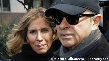 Ex-Autoboss Carlos Ghosn Ehefrau Carole