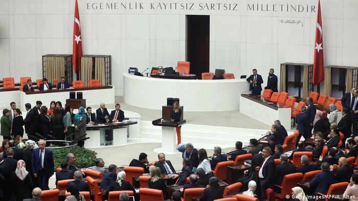 Türkei Parlament Ankara (Getty Images/AFP/A. Altan)