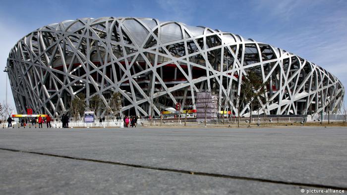 China l Peking - Nationalstadion Vogelnest