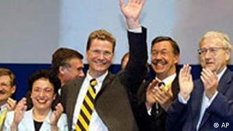 Гидо Вестервелле на съезде СвДП