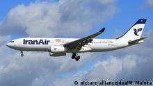 Iran Air Airbus A330 Flugzeug