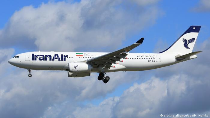Iran Air Airbus A330 Flugzeug (picture-alliance/dpa/M. Mainka)
