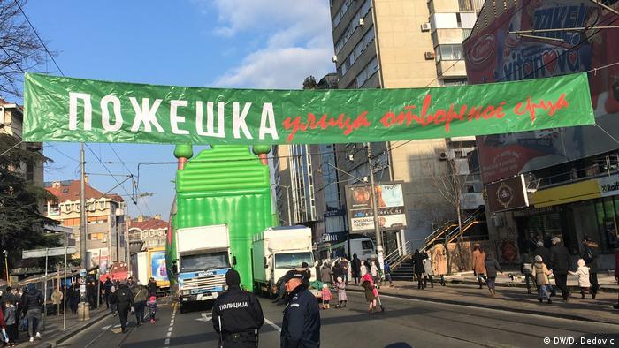 Belgrad im Dezember 2019