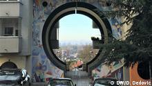 Belgrad Banovo brdo Straßendetail