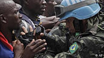 Peacekeepers in Haiti