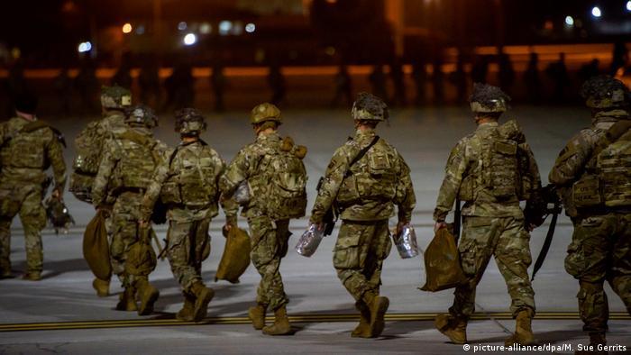 آمریکا نیروهای جدید به منطقه اعزام میکند