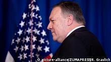 USA PK zu Luftangriffen in Syrien und dem Irak | Mike Pompeo