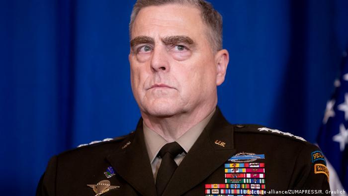 Голова Об'єднаного комітету начальників штабів США Марк Міллі