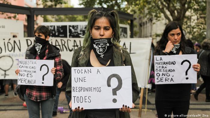 Internationaler Frauentag Uruguay Montevideo