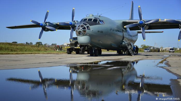 Foto simbólica de avión militar Antonov.