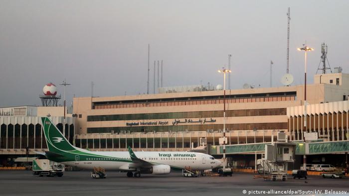 Der Flughafen in Bagdad