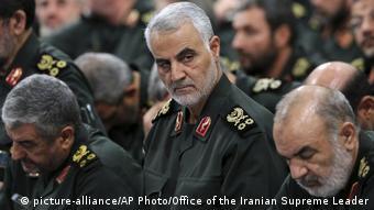 Генерал Касем Сулеймани принадлежал к военной верхушке Ирана