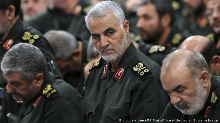 Revolutionary Guard Gen. Qassem Soleiman