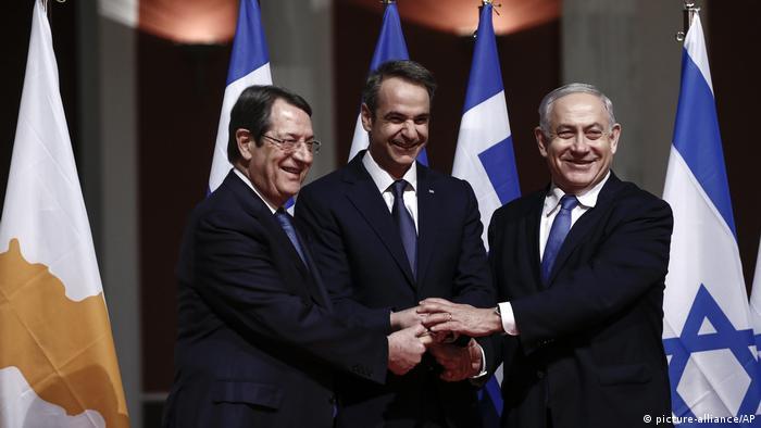 Griechenland, Zypern und Israel unterzeichnen Gas-Pipeline-Abkommen EastMed (picture-alliance/AP)