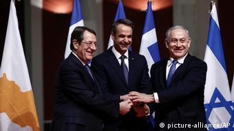Ελλάδα, Κύπρος και Ισραήλ υπογράφουν συμφωνία για τον αγωγό EastMed
