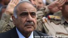 Adel Abdul Mahdi - Ministerpräsident des Irak