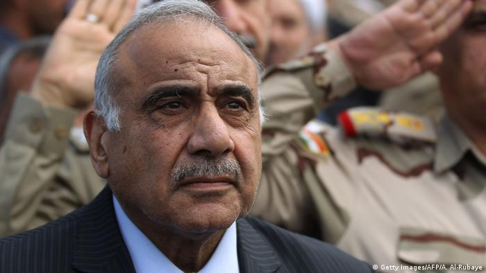 عادل عبد المهدي - رئيس الوزراء في حكومة تصريف الأعمال بالعراق