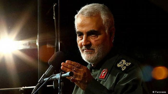 Iran Kommandeur Al-Kuds-Brigaden General Ghassem Soleimani