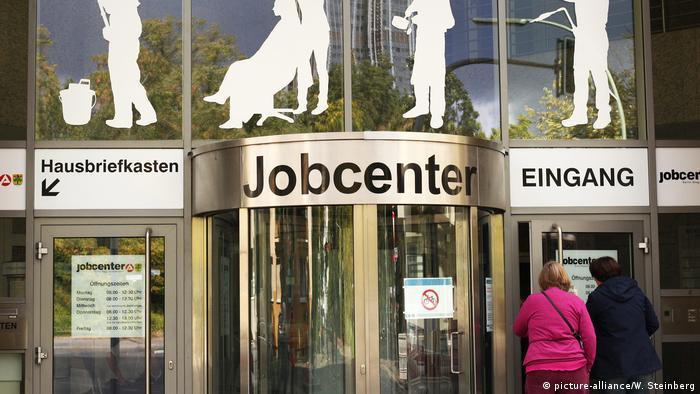 A job center in Berlin