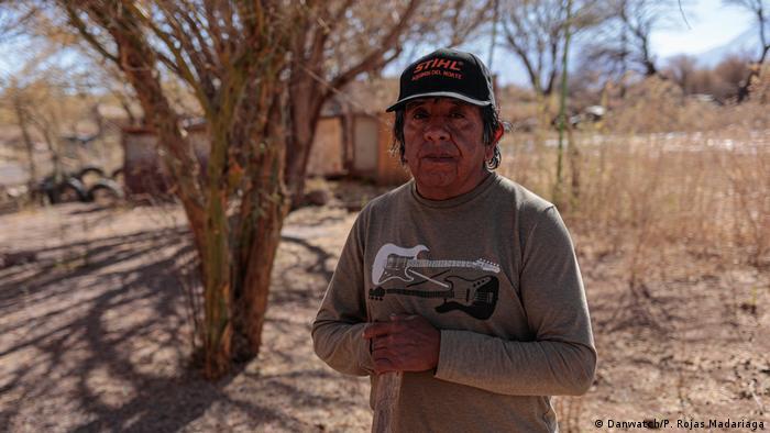 Vladimir Jorge Reyes dice que la minería de litio expulsará a los campesinos indígenas de Atacama.