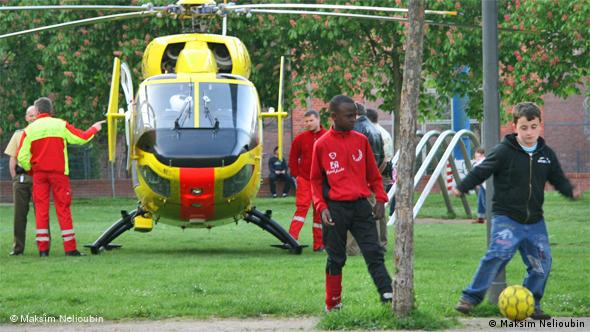Вертолет ADAC в Кельне