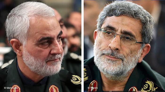 با حکم رهبر جمهوری اسلامی، سردار اسماعیل قاآنی به فرماندهی نیروی قدس سپاه منصوب شد