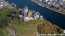 Die Reichsburg hoch über Cochem und der Mosel