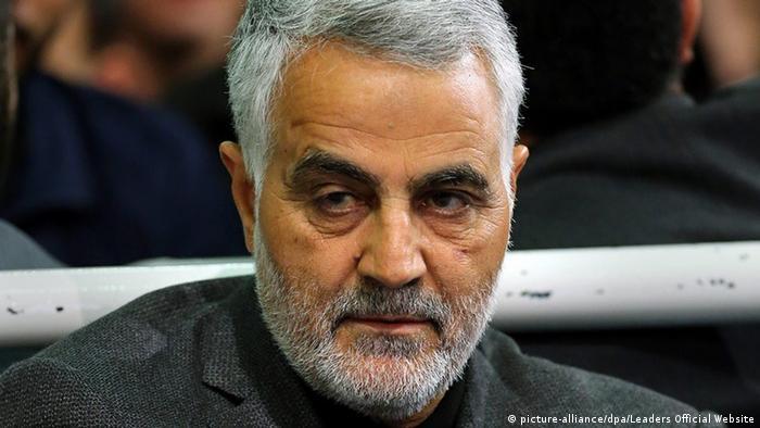 Kassem Soleimani, der Kommandeur der iranischen Al-Kuds-Brigaden