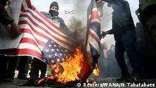 Iran Teheran | Demonstration nach Dronenattacke gegen Qassem Soleimani