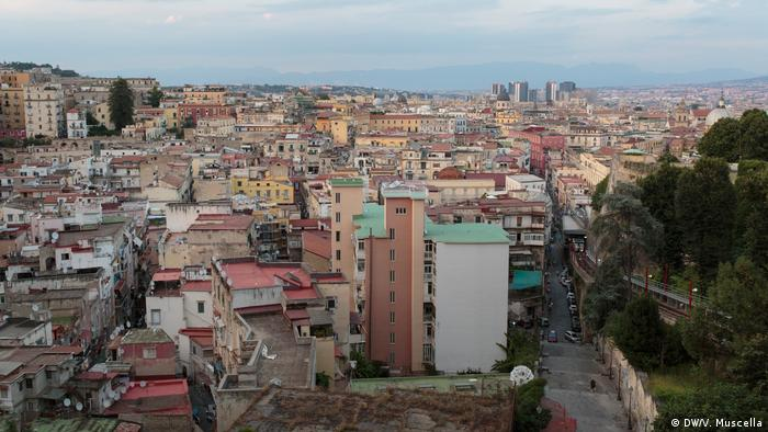 A view of Naples from Castel Sant'Elmo