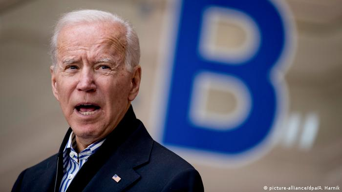 Konflikt Iran-USA Joe Biden (picture-alliance/dpa/A. Harnik)