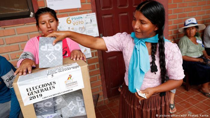 Bolivien Wahlen in Villa 14 de Septiembre