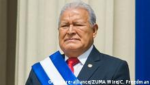 El Salvador Ex-Präsident Salvador Sanchez Ceren in San Salvador