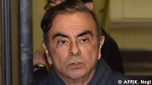 Japan Ex-Autoboss Carlos Ghosn in Tokio