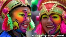 BdTD Kolumbien Pasto Blacks and Whites Carnival