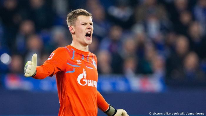 Alexander Nübel has lost his place at Schalke recently (picture-alliance/dpa/R. Vennenbernd)