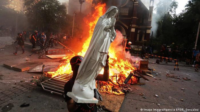Chile Proteste gegen Regierung
