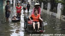 Indonesien Jakarta schwere Überschwemmungen
