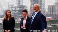 USA Pennsylvania | Donald Trump besucht Shell Pennsylvania Petrochemicals Complex