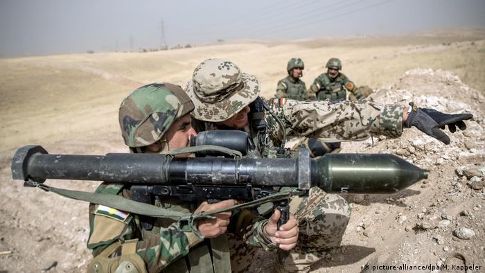 немецкие солдаты в Ираке