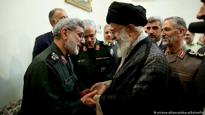 Vrhovni vođa Ali Hamenei (desno) odlučio je da general Ismail Kani nasledi ubijenog Sulejmanija na čalu Revolucionarne garde