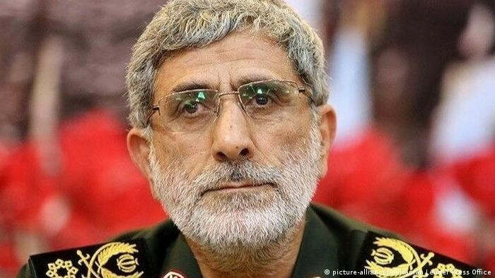 Глава спецподразделения иранских ВС Аль-Кудс в составе Корпуса стражей Исламской революции (КСИР) Исмаил Кани