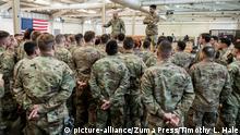 USA Pope Army Airfield | Konflikt mit dem Iran, Irak | Fallschirmjäger, Abreisevorbereitungen