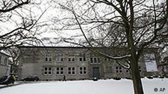 A view of the Canisius-Kolleg school in Berlin, Germany