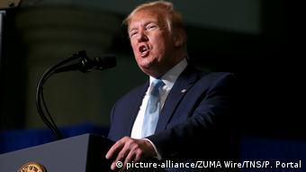 USA Miami Donald Trump (picture-alliance/ZUMA Wire/TNS/P. Portal)