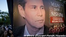 Argentinien Buenos Aires 1. Todestag Alberto Nisman