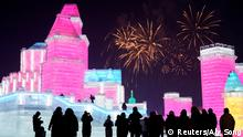 China Harbin Ice & Snow Festival Stadt aus Eis (Reuters/Aly Song)